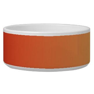 Warm colors, plain design. bowl