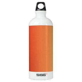Warm colors, plain design. water bottle