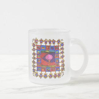 Warm coloured landschapjes with lively list! mug