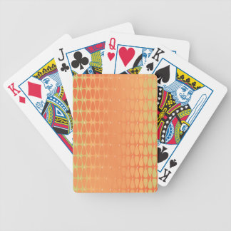 Warm colours in Cohesion Bicycle Playing Cards