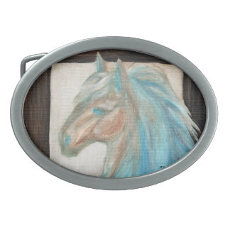 Warm & Cool Horse Collection Belt Buckle