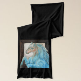 Warm & Cool Horse Collection Scarf