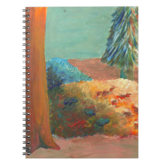 Warm/Cool Park Notebook