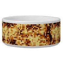 warm copper pattern 3 bowl