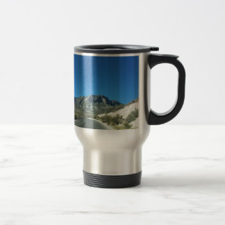 Warm desert days travel mug
