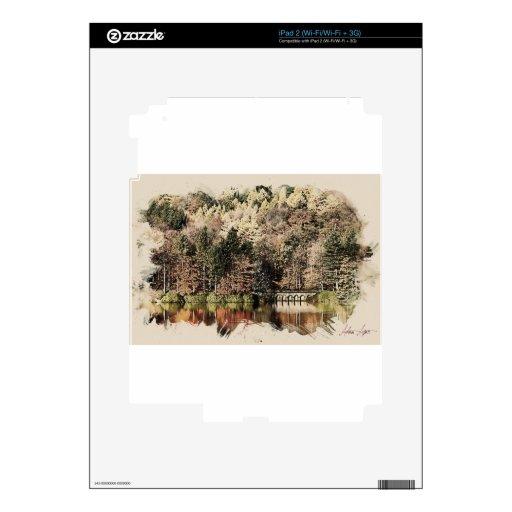 warm fall skins for iPad 2