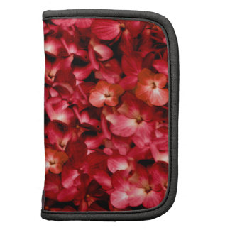 Warm Floral Collage Print Organizer