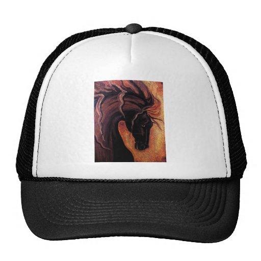 Warm Friesian Horse Trucker Hat