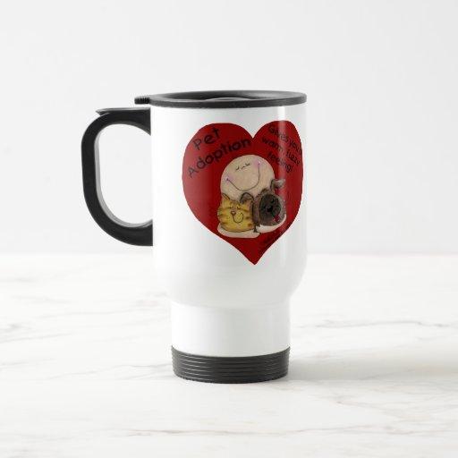 Warm, Fuzzy Feeling! Heart Coffee Mugs
