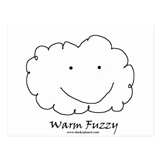 Warm Fuzzy Postcard