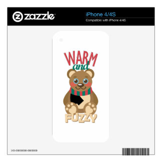 Warm & Fuzzy Skin For iPhone 4S
