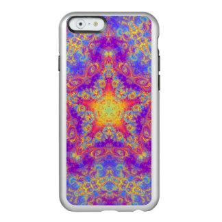 Warm Glow Star Bright Color Swirl Kaleidoscope Art Incipio Feather® Shine iPhone 6 Case