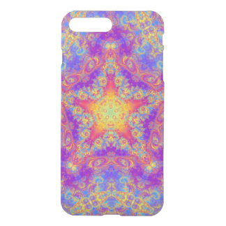 Warm Glow Star Bright Color Swirl Kaleidoscope Art iPhone 7 Plus Case