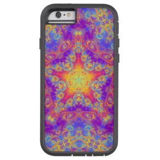 Warm Glow Star Bright Color Swirl Kaleidoscope Art Tough Xtreme iPhone 6 Case
