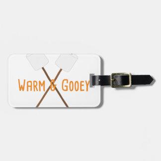 Warm & Gooey Luggage Tag