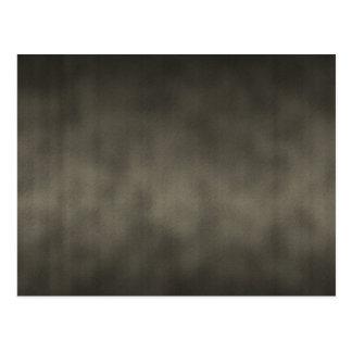 Warm Gray Goth Ombre Background Art Postcard