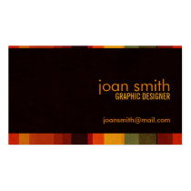warm, organic, earthy, nature, natural, richness, minimalistic, creative, designer, sleek, modern, simple, chic, stripes, Business Card with custom graphic design