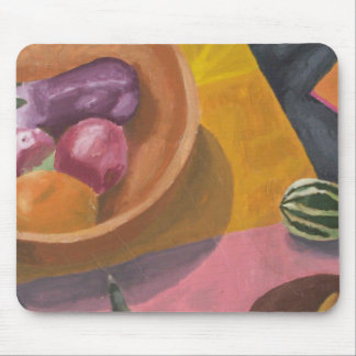 Warm Harvest Still Life Mouse Pad