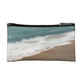 Warm Hawaiian Waves Makeup Bag