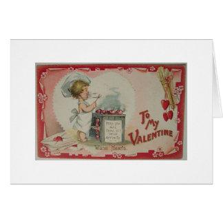 Warm Hearts Greeting Card