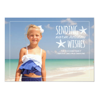 Warm Holiday Wishes | 2015 Holiday Photo Greeting Card