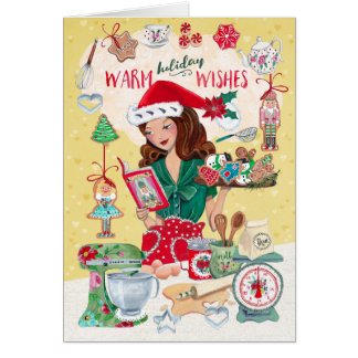 Warm Holiday Wishes | Cookies | Greetings Cards