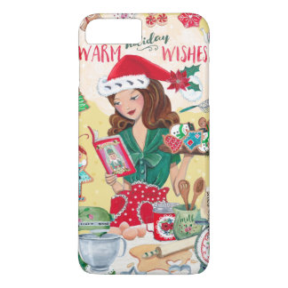 Warm Holiday Wishes   Cookies   Iphone 7 plus Case