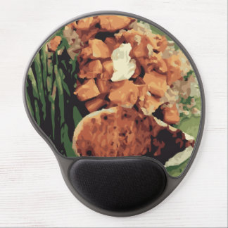 Warm Homemade Potatoes and Green Beans Gel Mouse Pads