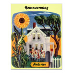 "Warm & Inviting Home HOUSEWARMING PARTY INVITATION 4.25"" X 5.5"" Invitation Card"