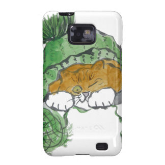 Warm Knit Cap and a Kitten Samsung Galaxy SII Cover