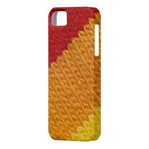 Warm knitted texture iPhone 5 case