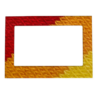 Warm knitted texture magnetic photo frame