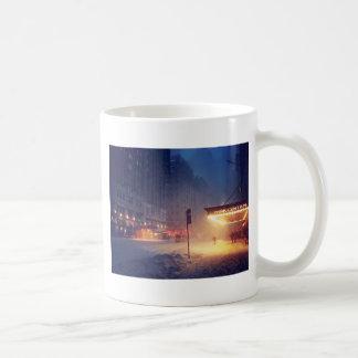 Warm Lights On A Cold Night Coffee Mug