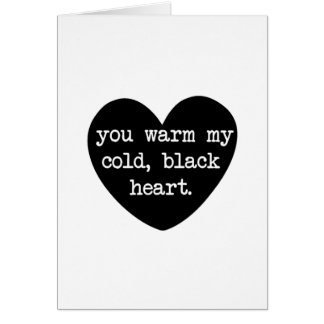 Warm my Heart Card