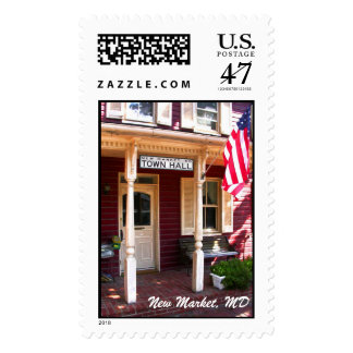 Warm New Market Welcome, New Market, MD Postage Stamp