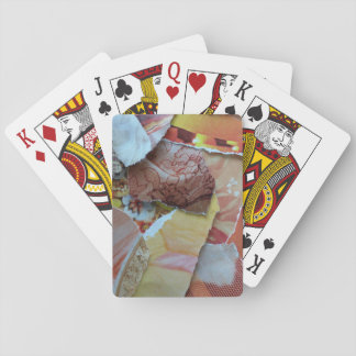Warm Peach Playing Cards