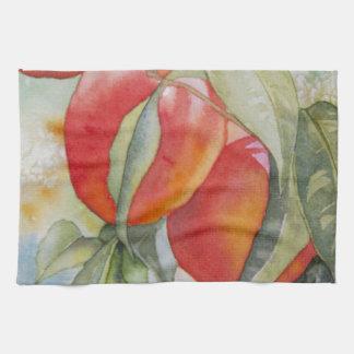Warm Peaches Kitchen Towels