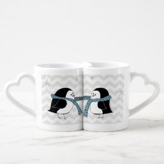 Warm Penguins Lovers Mug Couples' Coffee Mug Set
