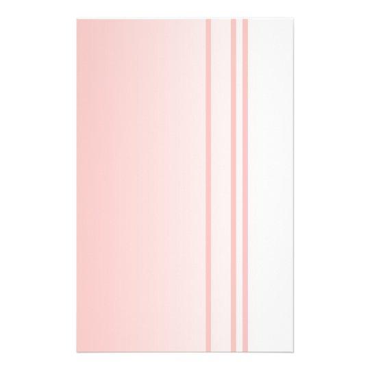 Warm Pink. Simple Elegant Design Flyer