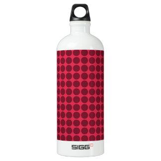 Warm polka dots, amaranth and claret SIGG traveler 1.0L water bottle
