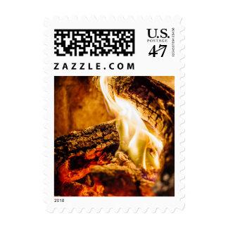 Warm Postage Stamp