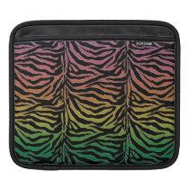 Warm Rainbow Tiger Animal Print Sleeve For iPads