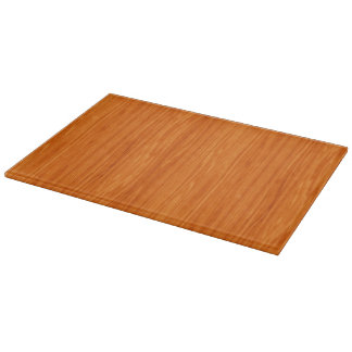 Warm Realistic Wood Texture Cutting Board
