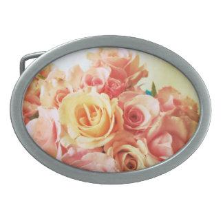 Warm roses belt buckle