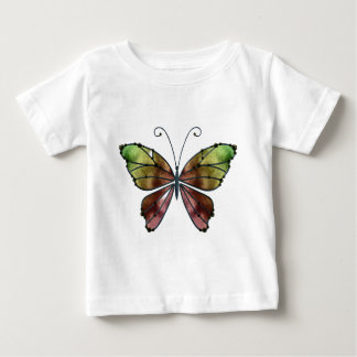 Warm Shades Rainbow Wings Butterfly Shirt