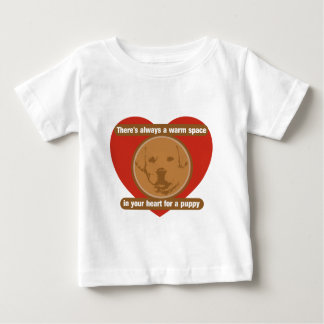 Warm Space In Your Heart For A Puppy Baby T-Shirt