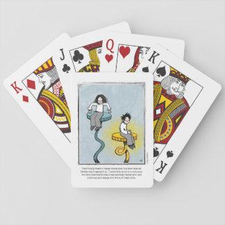 WARM SPOT Cartoon Playing Cards by Ellen Elliott
