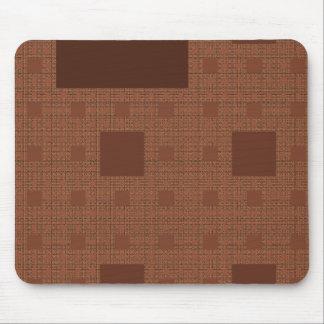 Warm Squares Mousepad