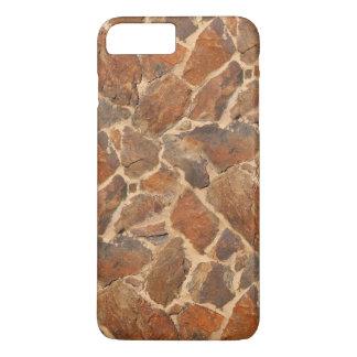 Warm Stonewall Pattern Golden iPhone 8 Plus/7 Plus Case
