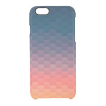 Warm Sunset Clear iPhone 6/6S Case